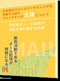 日本国内でメールマーケティングを<br>実施する前にチェックすべき法律について